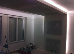 Création d'une ambiance lumineuse dans un appartement